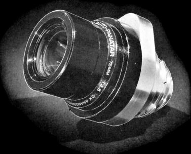 Panavision Auto Panatar Anamorphic Cine Lens, Circa 1957